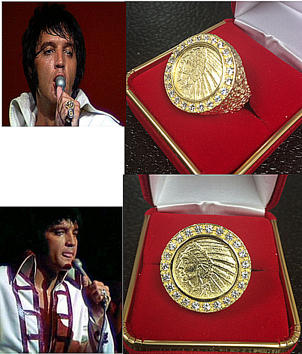 ELVIS COIN RING