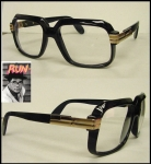 BLACK GOLD FRAME WITH CLEAR