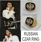 CZAR RING GOLD PLATTED
