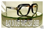 DMC GLASSES CAZAL BLACK ON SILVER RAPPER JAY Z 607