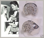 ELVIS CIRCLE G RING SILVER