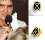 Last Concert eternity ring Gold platted