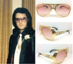 NEW GOLD GP EP TCB PINK LENSES