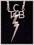TCB NECKLACE STERLING SILVER