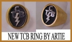 TCB RING OVAL